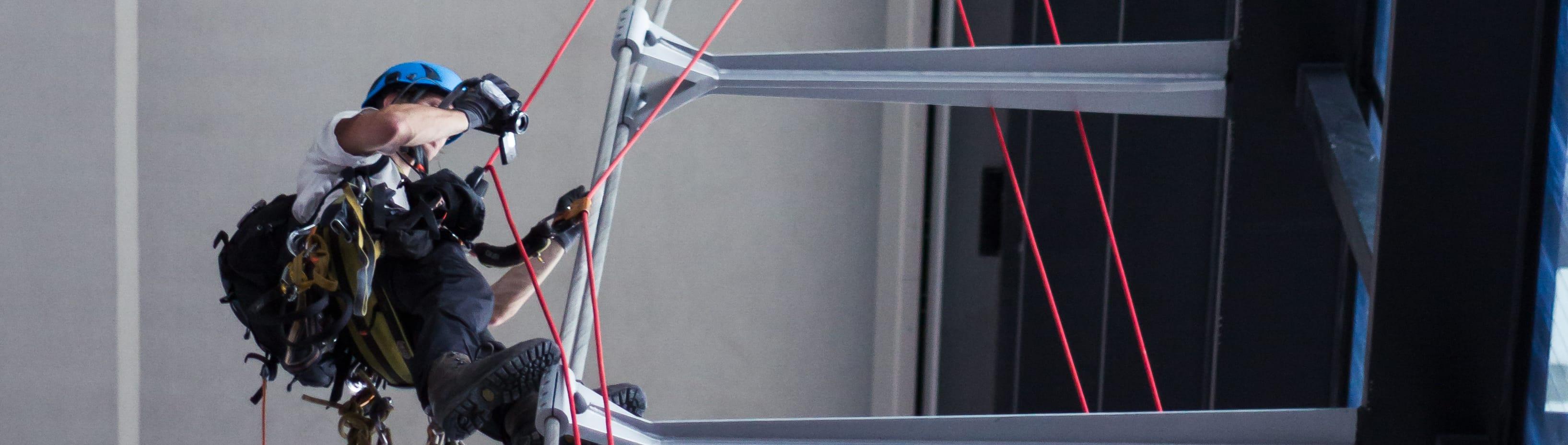 Videogestützte Untersuchung von Seilbindern